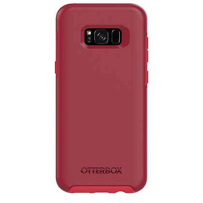 OtterBox Symmetry Galaxy S8+, Rosso Corsa (Red/Red)