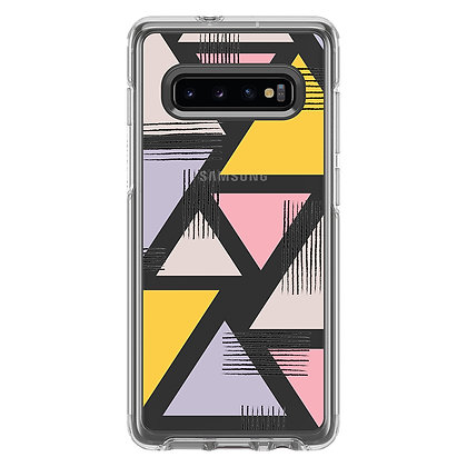 OtterBox Symmetry Clear Galaxy S10+, Graphic Love Triangle