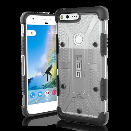 "UAG Google Pixel XL 5.5"" Plasma Case, Ice/Black (Transparent)"