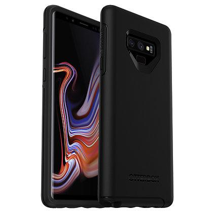 OtterBox Symmetry Series Samsung Galaxy Note 9, Black (Black/Black)