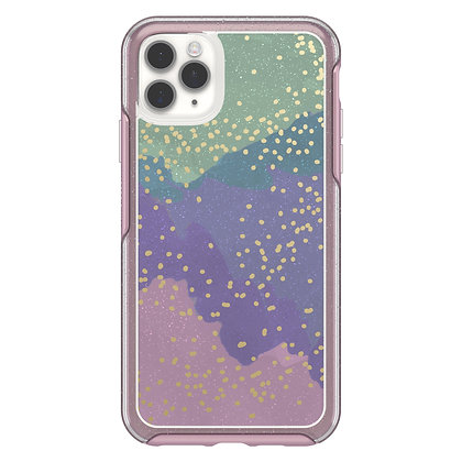 OtterBox Symmetry Clear Series iPhone 11 Pro Max, Wish Way Now (Flake/Pink)