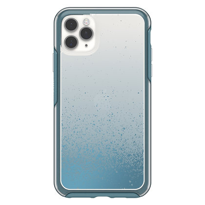 OtterBox Symmetry Clear iPhone 11 Pro Max, We'll Call Blue (Clear/Blue)