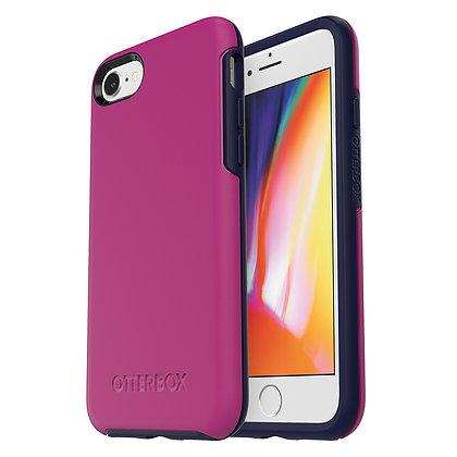 OtterBox Symmetry Series iPhone SE/8 , Mix Berry Jam (Rouge/Blue)