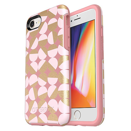 OtterBox Symmetry IML Series iPhone SE/8, Mod About You (Beige/Blush/Dots)