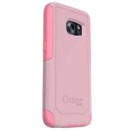 OtterBox Commuter Samsung Galaxy S7, Bubblegum Way (Pink/Pink)