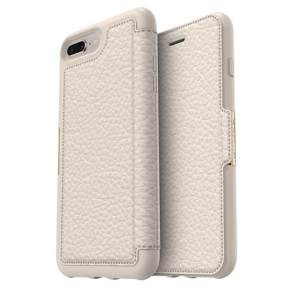 OtterBox Strada Series iPhone 8 Plus, Soft Opal (Beige/Beige)
