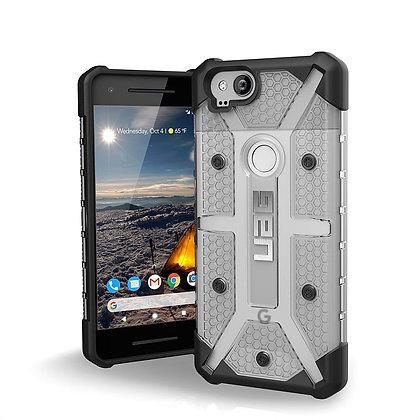 "UAG Google Pixel 2 5"" Plasma Case, Ash/Black (Grey Transparent)"