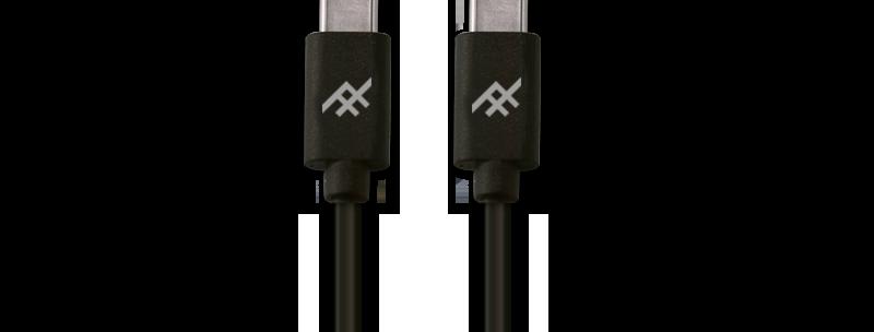 iFrogz Unique Sync USB-C 3.1 to USB-C 3.1 Cable, 1M Black