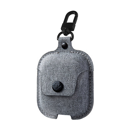 Twelve South AirSnap for AirPods (twill fog / light gray)