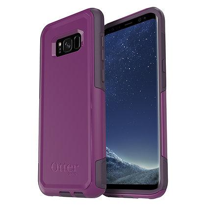 OtterBox  Commuter Samsung Galaxy S8+, Plum Way (Plum Haze/Purple)