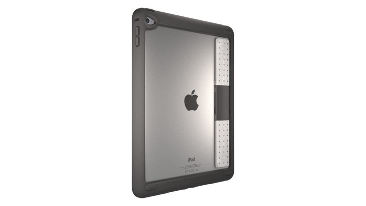 """OtterBox Unlimited Series iPad 9.7"""" (2017), Clear/Slate Grey (Retail Packaging)"""