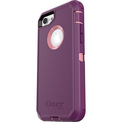 OtterBox Defender Series iPhone 7/8/SE, Vinyasa (Rosmarine/Plum Haze)