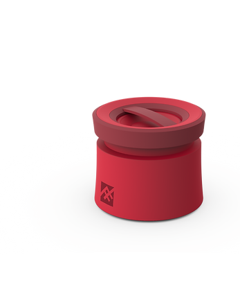 iFrogz Audio Coda Bluetooth Speaker with Mic, Red