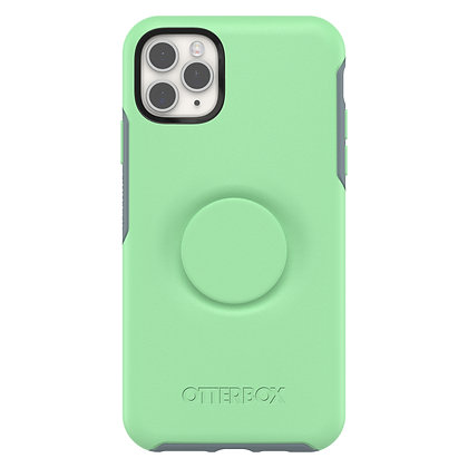 OtterBox Symmetry Otter + Pop iPhone 11 Pro Max, Mint To Be