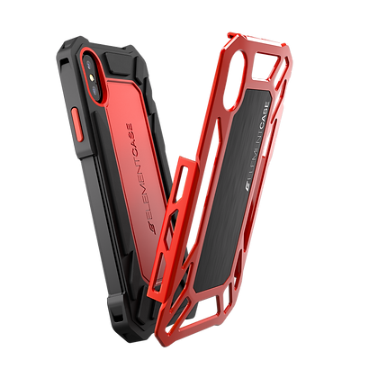 Element Case iPhone X Roll Cage, Red