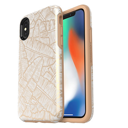 OtterBox Symmetry IML Series iPhone X, Throwing Shade (Whte/Tan/Shade)