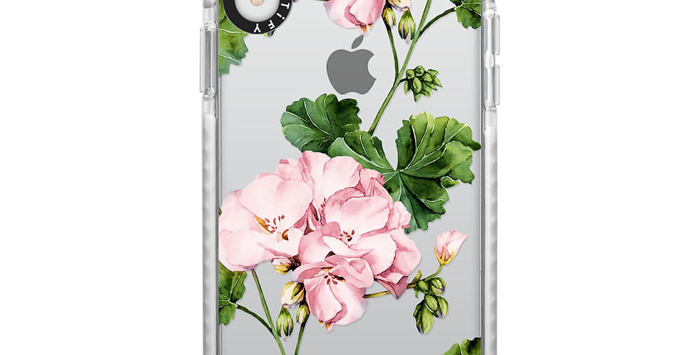 Casetify iPhone XR Impact Case, Frost Geranium