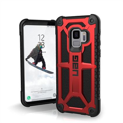 UAG Samsung Galaxy S9 Monarch Case, Crimson/Black