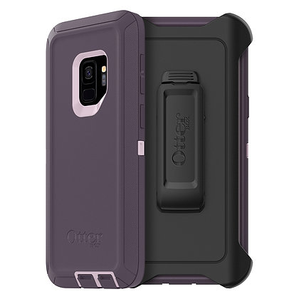 OtterBox Defender Samsung Galaxy S9, Purple Nebula (Orchid/Purple)