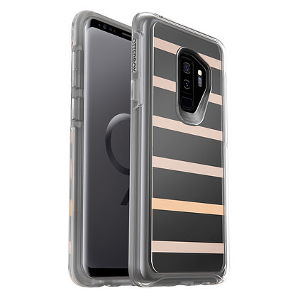 OtterBox Symmetry Clear Samsung Galaxy S9+, Graphic Inside The Lines