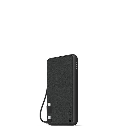 Mophie Powerstation Plus External Battery ST-Cable 6,000mAh, Black
