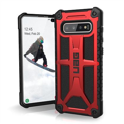UAG Samsung Galaxy S10+ Monarch Case, Crimson