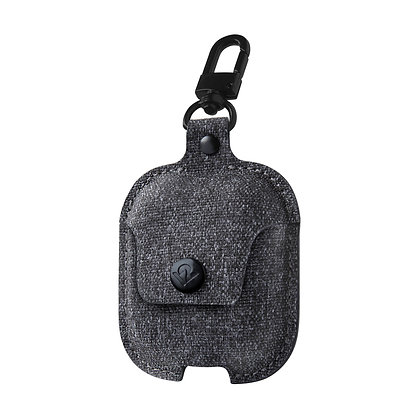 Twelve South AirSnap for AirPods (twill smoke / dark gray)