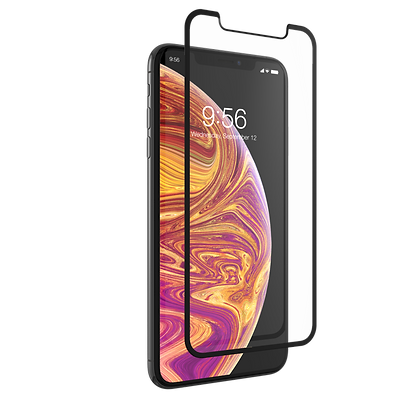 InvisibleShield Glass Curve iPhone Xs Max, Screen Black