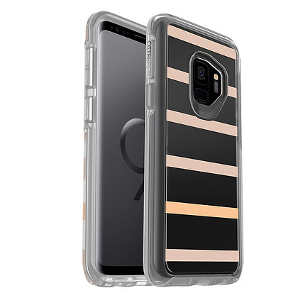 OtterBox Symmetry Clear Samsung Galaxy S9, Graphic Inside The Lines