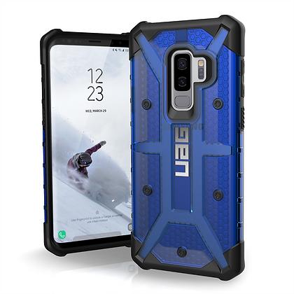 UAG Samsung Galaxy S9+ Plasma Case, Cobalt/Black (Blue Transparent)