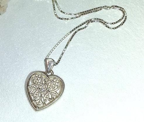 Silver Sweetheart Pendant