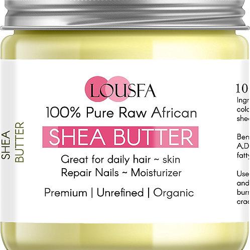 100% Organic ivory Pure Shea Butter