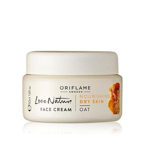 LOVE NATURE Face Cream Oat