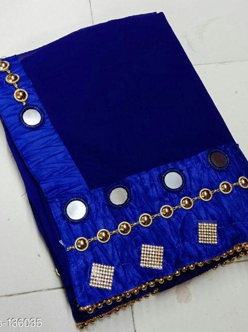 Darpan Mirror Work Sarees - M