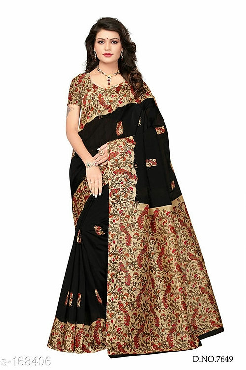 Vasundhara Bhagalpuri Silk Sarees