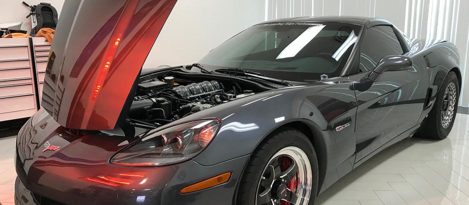 Chevrolet Corvette C6 Z06 Side Mirror Removal