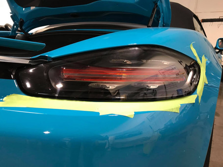 2019 Porsche Boxster S Taillight Removal