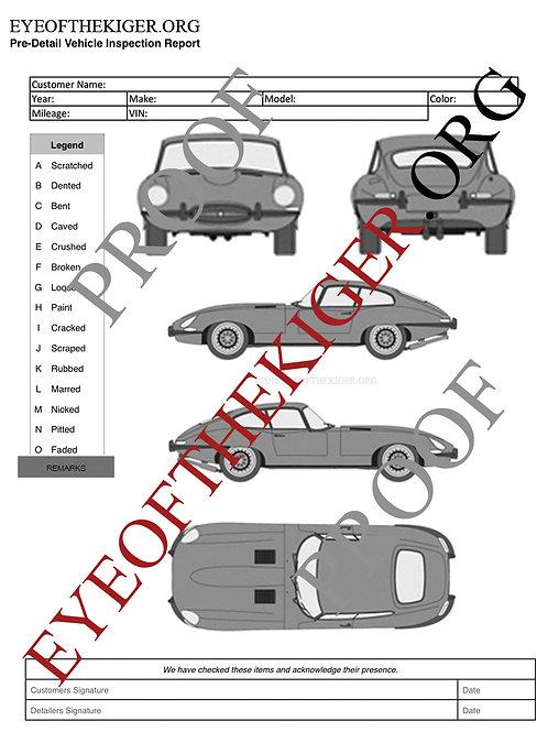 Jaguar XKE Coupe 4.2 (1961-68)