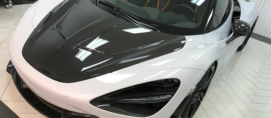McLaren 720S Hood Removal & Install