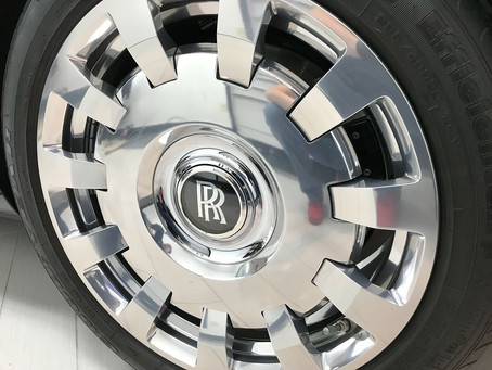 Rolls Royce Forged Wheel Separation