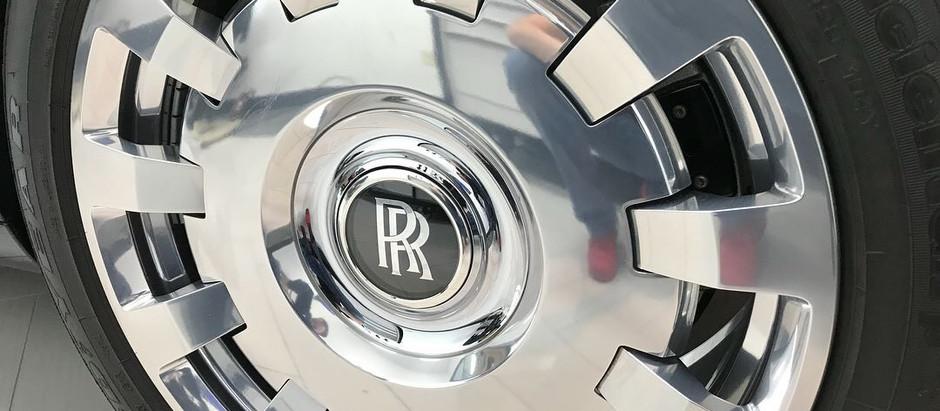 Rolls Royce Forged Wheel Separation