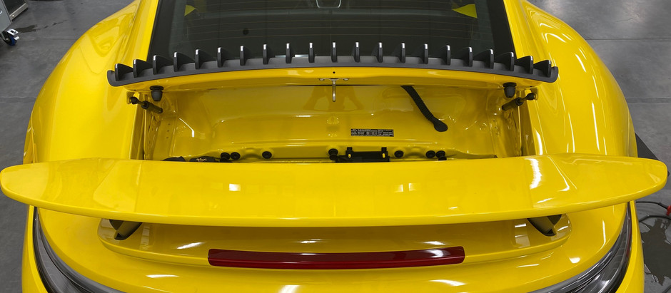 2020+ Porsche 911 (992) turbo S Spoiler removal & taillights
