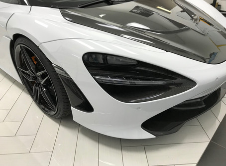 McLaren 720S Headlight & Front Turn Signal Removal