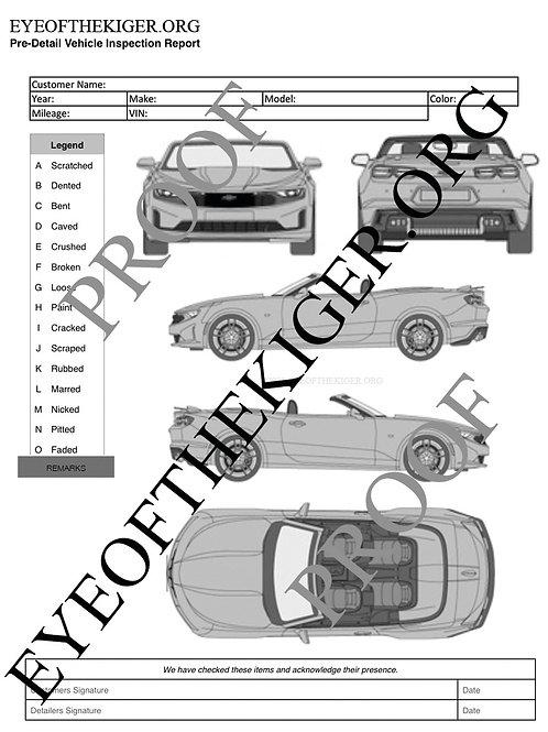 Chevrolet Camaro Convertible RS (2018-19)
