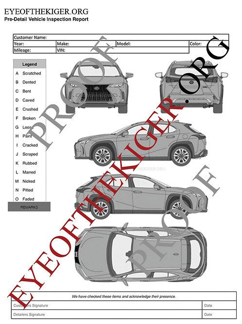 Lexus UX (2018-19)