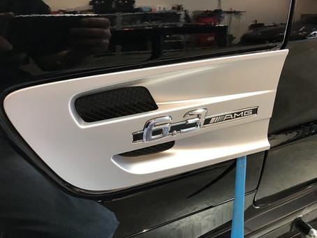2009 Mercedes-Benz SL63 Fender Vent Removal
