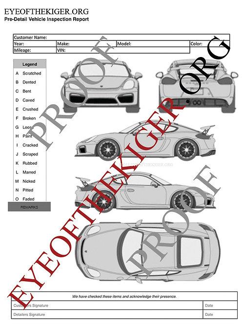 Porsche Cayman GT4 Vorsteiner Aero Kit (2016)