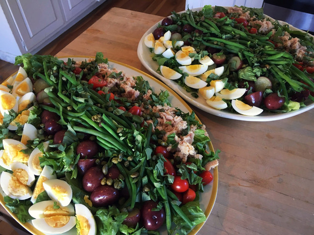 Nicoise Salad Platters for a Crowd