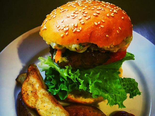 Handmade Burgers on Fresh Baked Brioche Bun