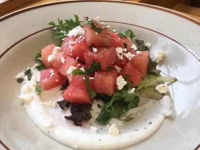 Mediterranean Watermelon Salad